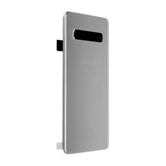 Samsung Galaxy S10 G973F Akkudeckel, Silber