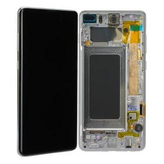 Samsung Galaxy S10 Plus LCD Display, Prism White
