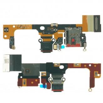 Google Pixel 3 XL USB C Anschluss Buchse Mikrofon Leitung Platine board