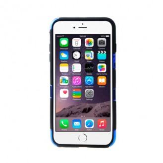"""Skull-Kopf-Soft Hülle iPhone 6 4.7"""" Blau"""