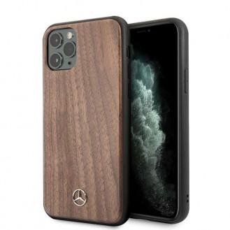 iPhone 11 Pro Mercedes Benz Wood Line Walnut Case MEHCN58VWOLB