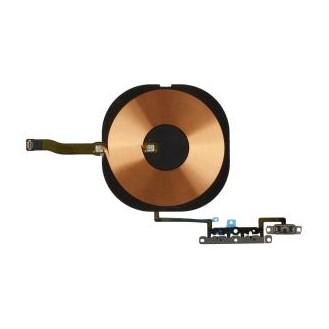 Qi Wireless Charger Spule mit Lautstärke und Powerbutton kompatibel mit iPhone 11