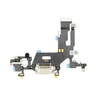 Dock Connector Flex kompatibel mit iPhone 11, Weiss A2221, A2223, A2111