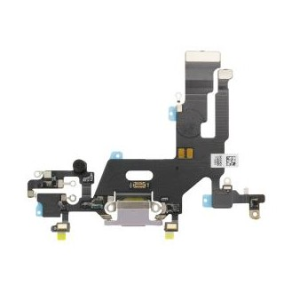 Dock Connector Flex kompatibel mit iPhone 11, Schwarz
