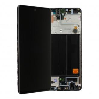 Samsung Galaxy A51 A515F LCD + Touch Einheit, Schwarz