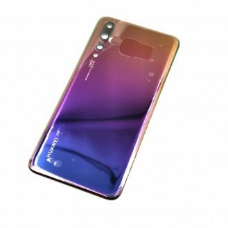 Huawei P20 Pro mit Kameralinse OEM Backglass Akku Deckel Twilight