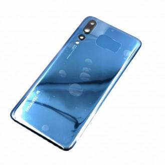 Huawei P20 Pro mit Kameralinse OEM Backglass Akku Deckel Blau