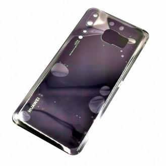 Huawei P20 Pro mit Kameralinse OEM Backglass Akku Deckel Schwarz