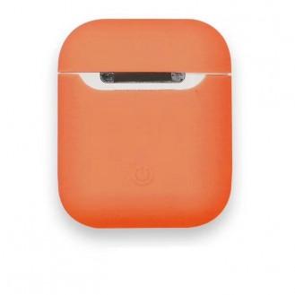 AirPods Silikon  Case Hülle Orange