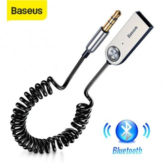 Baseus Bluetooth 5.0 Audio Transmitter Empfänger Auto AUX 3.5mm Adapter Kabel