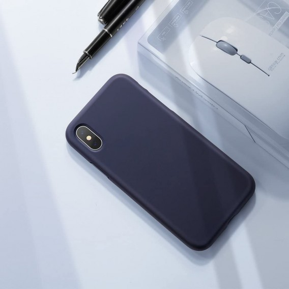 Xundd iPhone X, XS Slikon Case - Blau