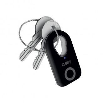 SBS Taggy Bluetooth Keyfinder für iOS/Android Schwarz