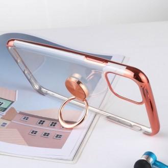 Handyhülle Schutzhülle mit Ring Silikon TPU Case Cover für iPhone 11 Pro Max