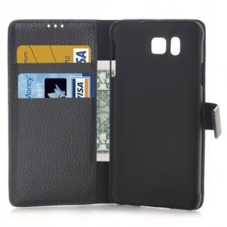 Leder Kreditkarte Etui Galaxy Alpha