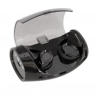 TWE Kabellose Wireless In-Ear Kopfhörer mit Lade Case für Smartphone