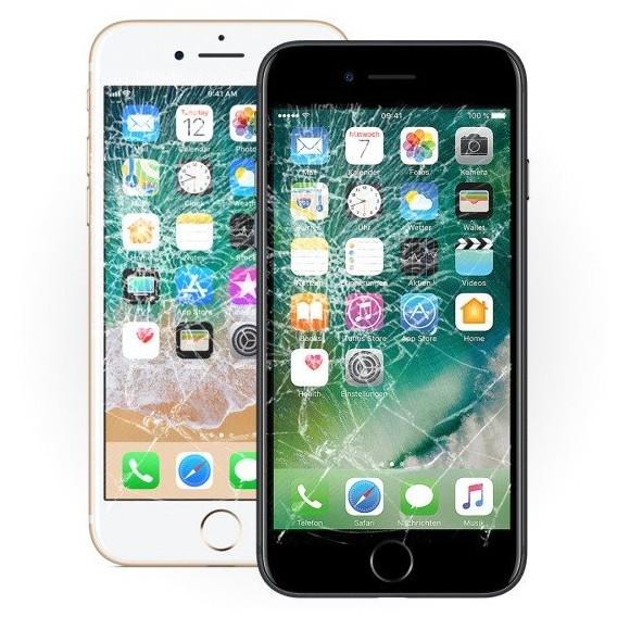 iPhone 7 Display Reparatur Glas Austausch Ohne Datenverlust