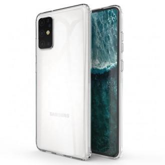 Silikon Hülle - Samsung G985F Galaxy S20+, S20 Plus - Ultra Dünn Transparent Cover Hülle Tasche