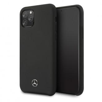 Mercedes-Benz - Liquid Hard Case- Apple iPhone 11 Pro Max - Cover Hülle Schutzhülle - Schwarz