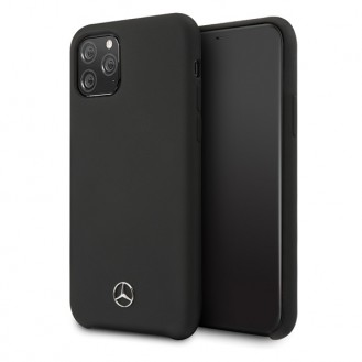 Mercedes-Benz - Liquid Hard Case- Apple iPhone 11 Pro  - Cover Hülle Schutzhülle - Schwarz