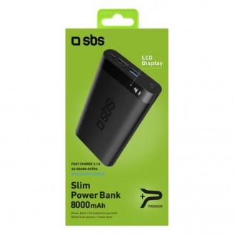 SBS Powerbank 5000 mAh, Rot TEBB5000R