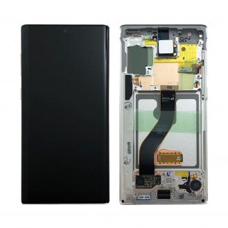 Samsung Galaxy Note 10 LCD Display, Aura White