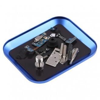 Antistatisch Magnet Silikon Reparatur Arbeitsmatte Handy Lötmatte Unterlage BLAU
