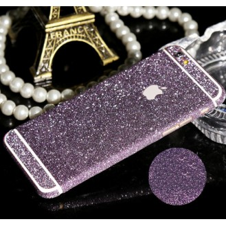 iphone 6 6S Lila Bling Aufkleber Schutz-Folie Sticker Skin