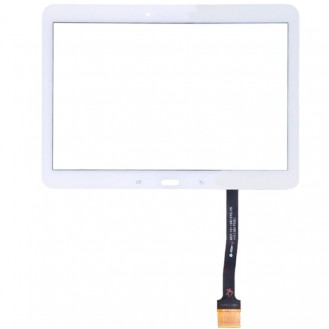 Display Glas Touchscreen Weiss Galaxy Tab 4 10.1 / T530 / T531 / T535