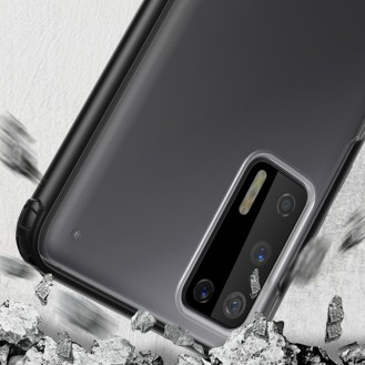 Huawei P40 Pro Transparent Schutzhülle Silikon Tasche Schutz Case