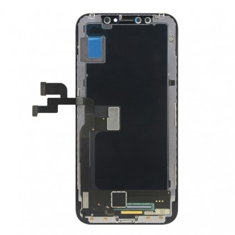 LCD Display kompatibel mit iPhone X, Schwarz TFT