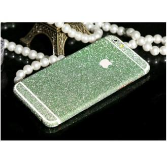 iphone 6 6S Plus Grün Bling Aufkleber Schutz-Folie Sticker Skin