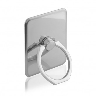 Metall Telefonhalter Ringständer Ring Modell silber