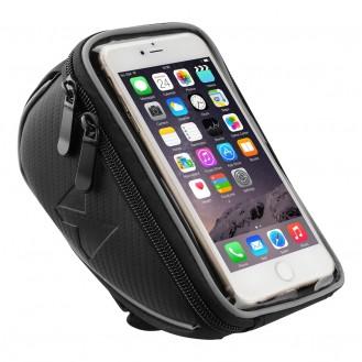 More about Fahrradtasche, Rahmentasche,Handyhalterung für Smartphones max 6,5 Zoll 0,9L schwarz
