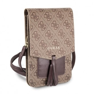 More about GUESS 4G WALLET UNIVERSAL GUWBSQGBE BEIGE Braun