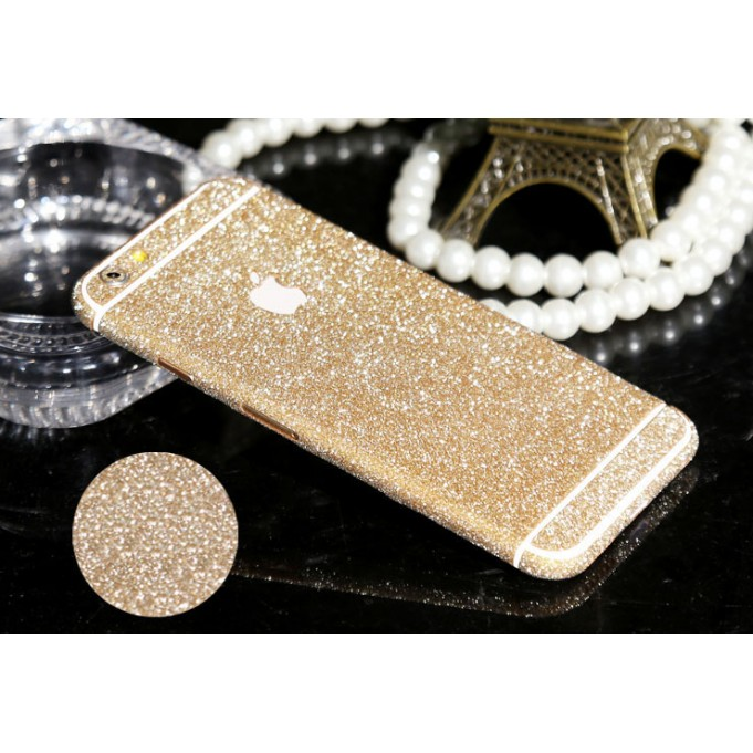 iphone 6 6s Plus Champagne Bling Aufkleber Folie Sticker Skin