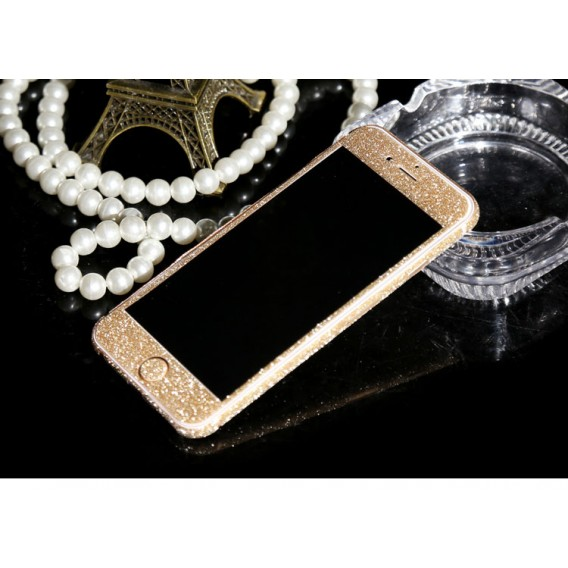 iphone 6 6S Champagne Bling Aufkleber Folie Sticker Skin