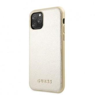 Guess IriDescent Kollektion iPhone 11 Pro Handyhülle Cover Case Hülle Gold