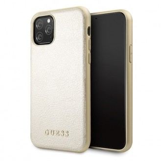 Guess IriDescent Kollektion iPhone 11 Pro Handyhülle Cover Case Hülle Gold