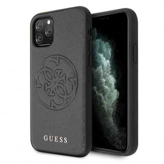 Guess Hard Case  Saffiano 4G Circle Logo für Iphone 11 Pro