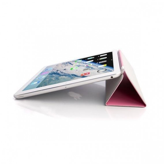 iPad Air 2 Smart Cover Case Front Rosa