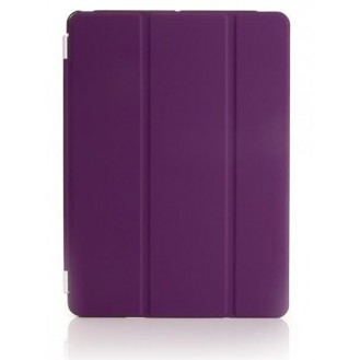 iPad Air 2 Smart Cover Case Front Lila
