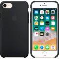 iPhone SE 2020 / 8 / 7 Silikon Case Schwarz