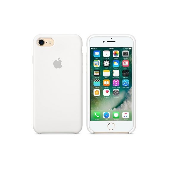 iPhone SE 2020 / 8 / 7 Silikon Case Weiss