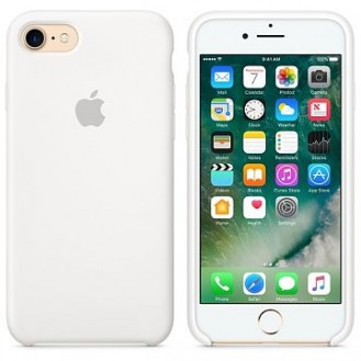 iPhone SE 2020 / 8 / 7 Silikon Case Weiss