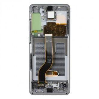 Samsung LCD Display mit Rahmen  Kompatibel zu: Samsung Galaxy S20+ SM-G985F  Lieferumfang: LCD Display mit Rahmen