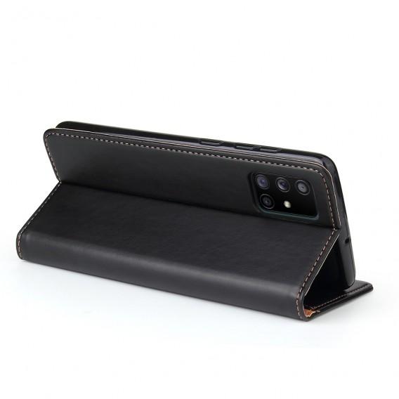 Handy Hülle Samsung Galaxy S20 Ultra Book Case Wallet Schutzhülle Tasche Slim Flip Cover Etui Schwarz