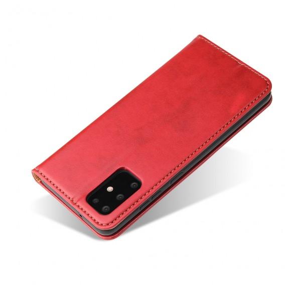 Handy Hülle Samsung Galaxy S20 Ultra Book Case Wallet Schutzhülle Tasche Slim Flip Cover Etui Rot