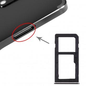 Nokia 6  SIM KARTENHALTER SCHWARZ