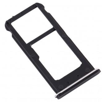 Nokia 6.1  SIM KARTENHALTER / SD Slot Halter SCHWARZ