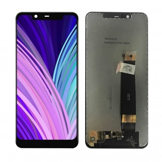 Nokia 5.1 Plus 2018 Ersatzdisplay LCD + Digitizer Front (OEM) - Schwarz